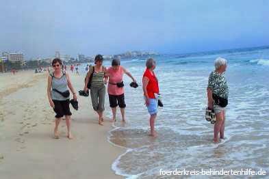Freizeit am Meer